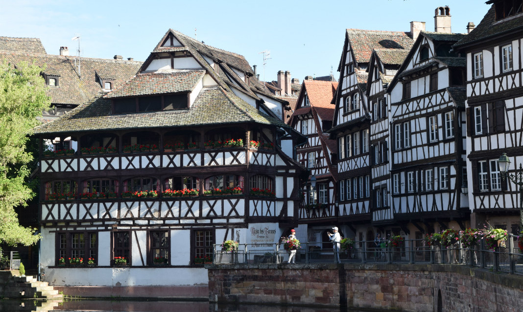 Strasbourg is one of France's most beautiful small cities.