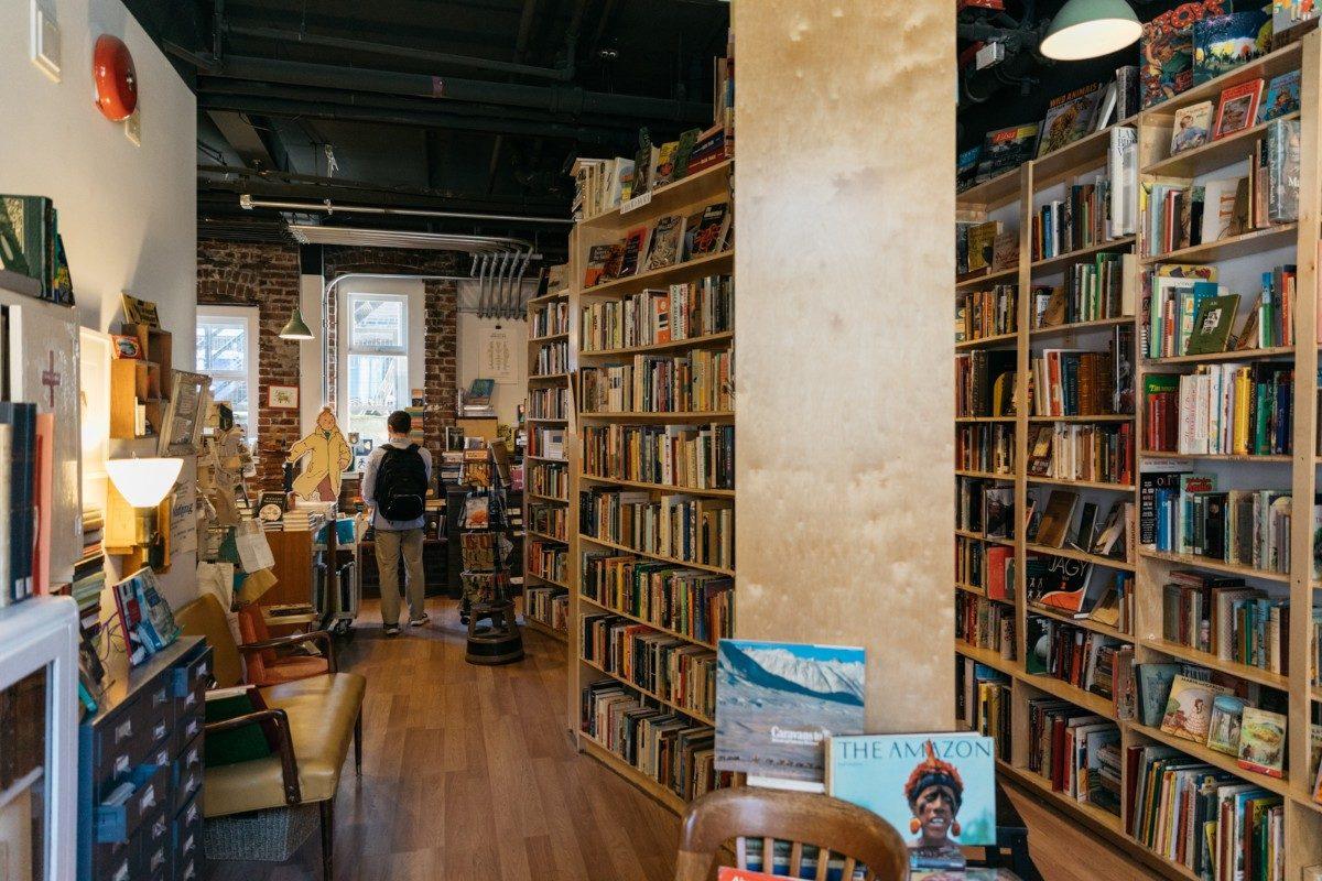 bookstore aisles