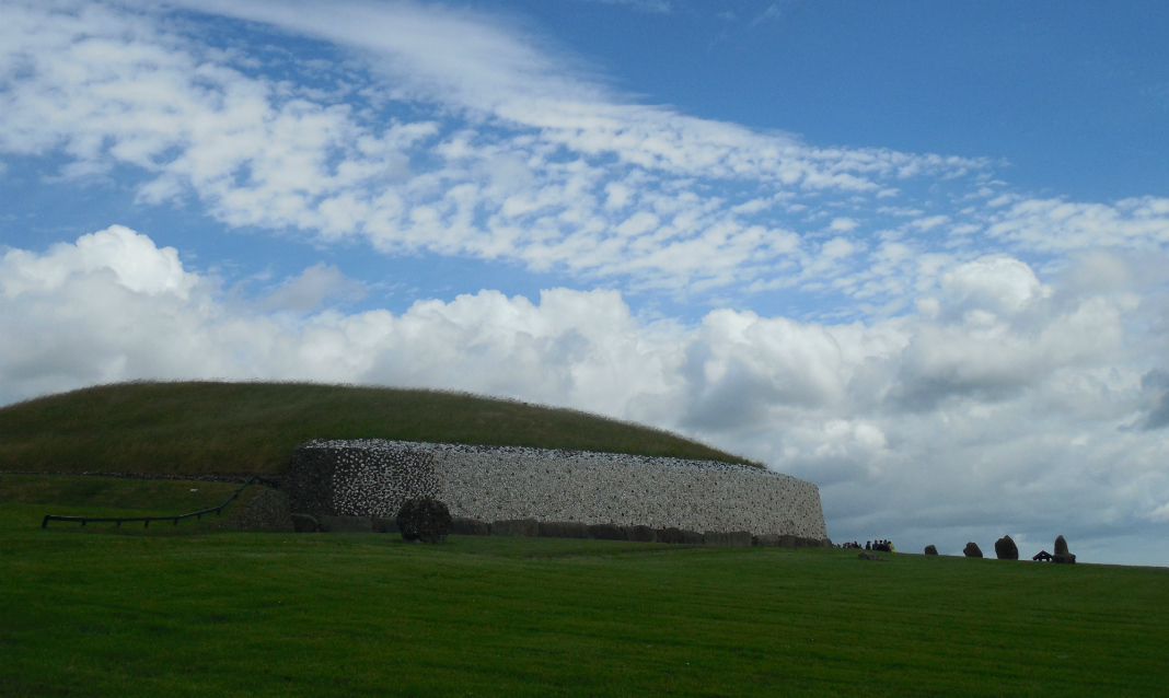 Newgrange, an important site in archaeology.