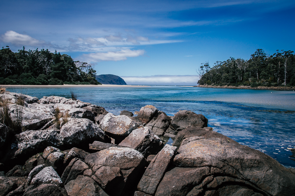 A lagoon on Bruny Island, photo by Tamara Thurman