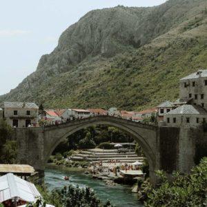 bridge in mostar bosnia